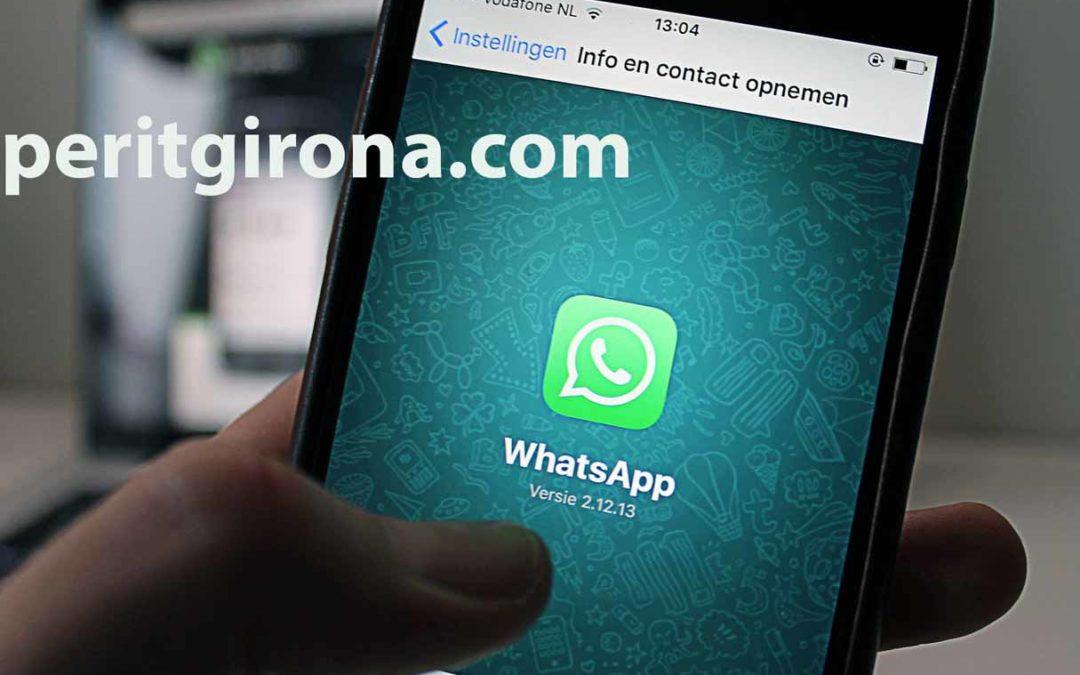 prueba de whatsapp para un juicio en un informe pericial